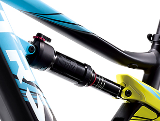 リアサスRockShox Deluxe RT  150mm Travel