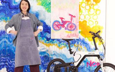 """自転車生活にイノベーションを! """"BESV × のん"""" 応援プロジェクト!"""
